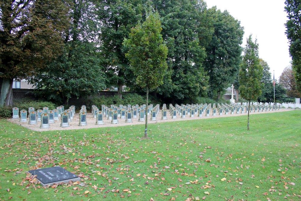 Belgische Oorlogsgraven Westerbegraafplaats Gent