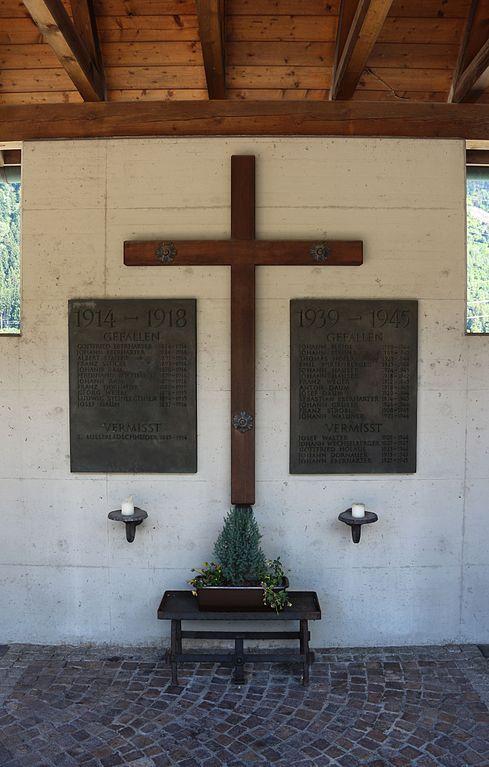 Oorlogsmonument Aschau im Zillertal