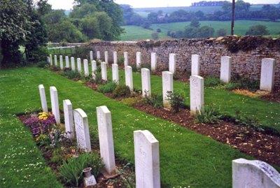 Commonwealth War Graves St. John the Baptist Churchyard