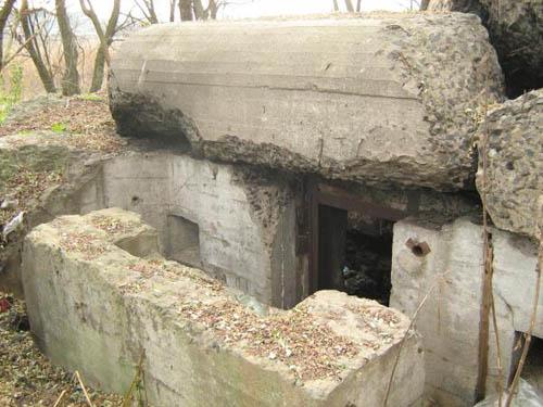 Stalinlinie - Restant Kazemat Nr. 282