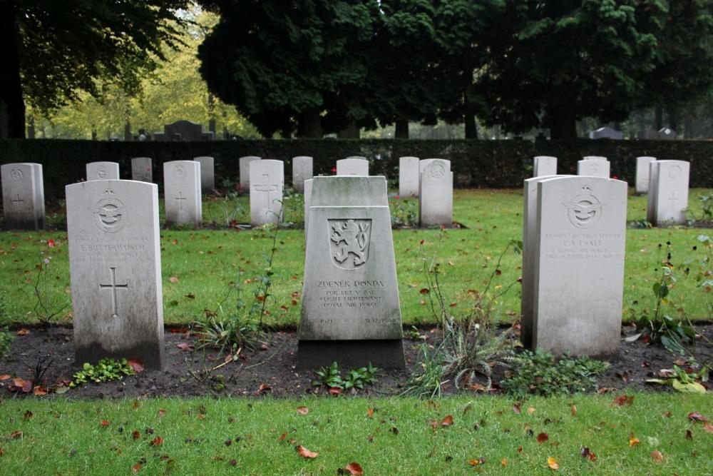 Czechoslovakian War Grave Central Cemetery Brugge