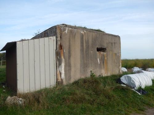 British Bunker / Stützpunkt Arnika - Vf MG