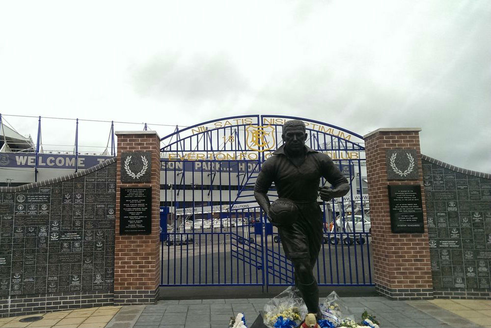 Oorlogsmonument Everton Football Club