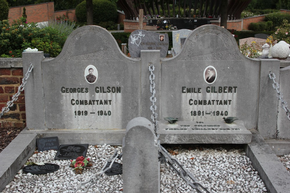Graves Civilian Casualties Mont-Saint-Guibert