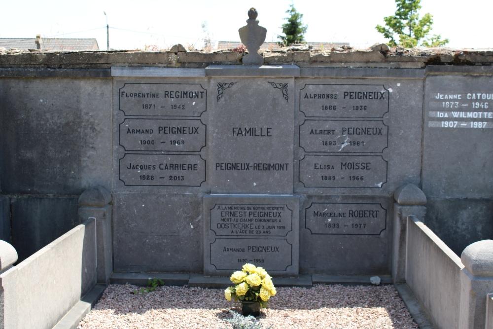 Belgian War graves Moha