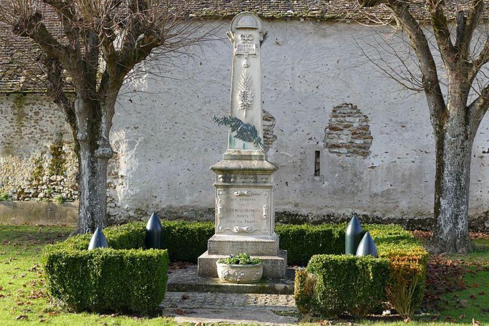World War I Memorial Le Mesnil-Simon