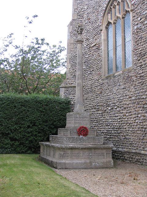 War Memorial Weybourne