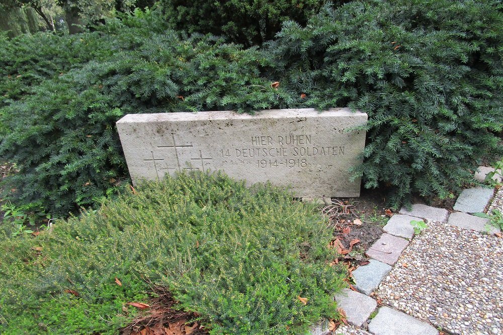 Duitse Oorlogsgraven Algemene Begraafplaats Crooswijk