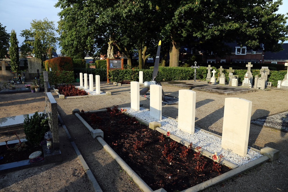 Commonwealth War Graves Roman Catholic Cemetery Erp