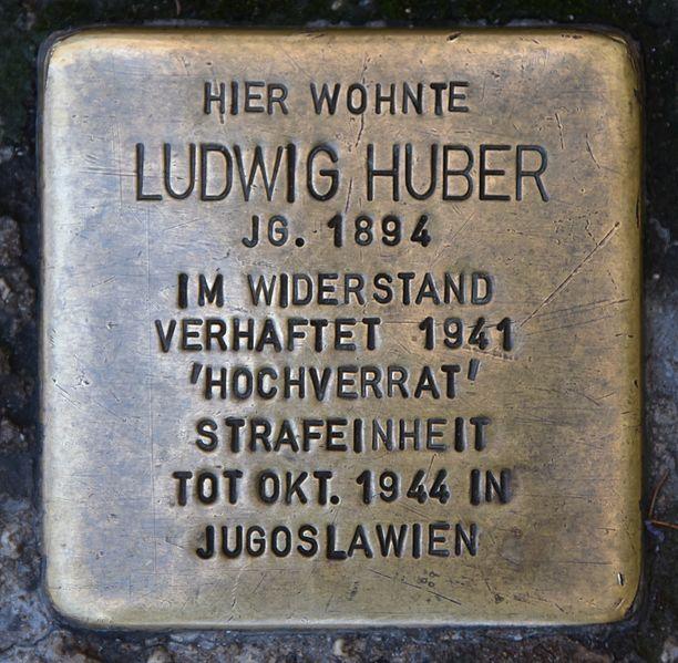 Stolperstein Hauptplatz 20