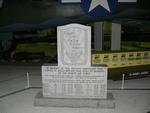 Monument Eighth Air Force London