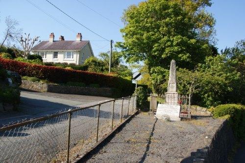 War Memorial Llanfarian