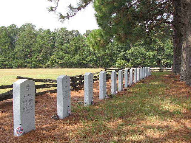 Begraafplaats Geconfedereerden Bentonville Battlefield