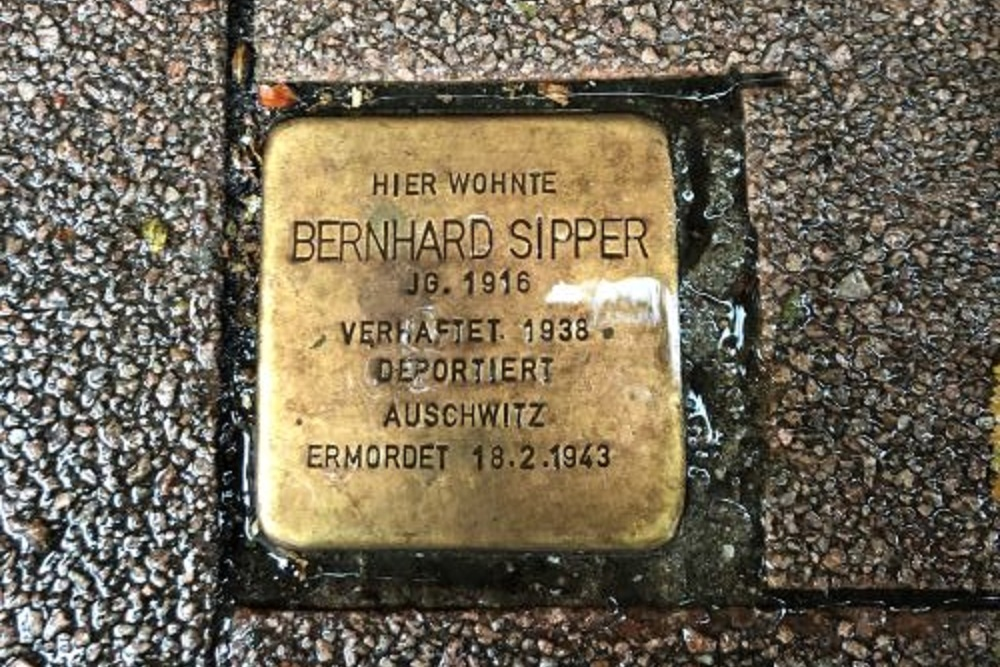 Stumbling Stone Emanuel-Geibel-Straße 11