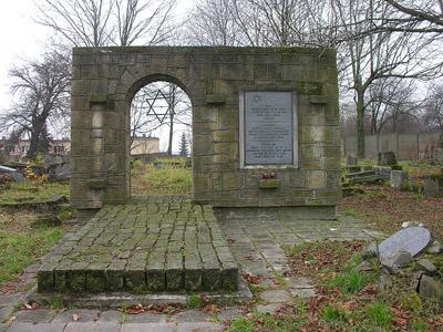 War Graves Jewish Cemetery Jaslo