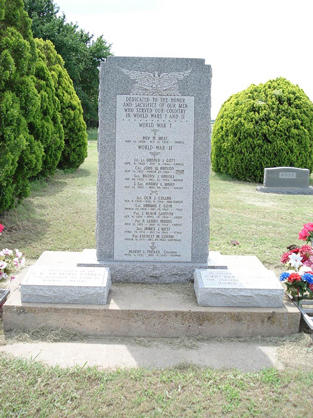 War Memorial Harmon