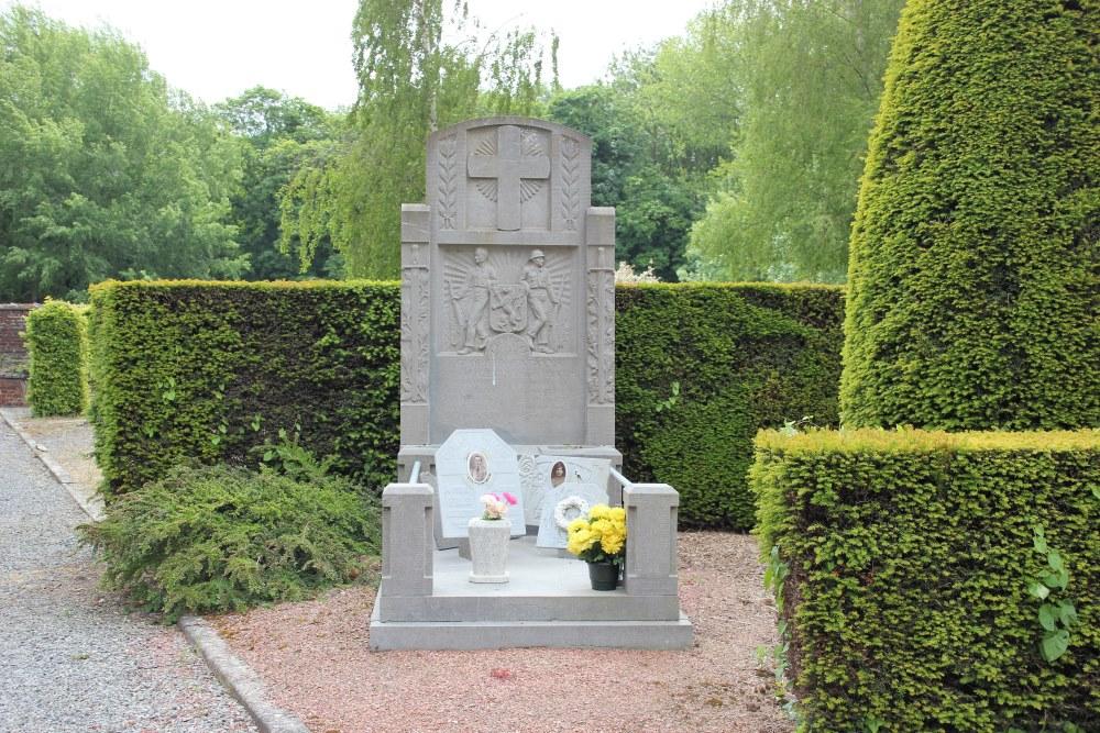 Belgische Oorlogsgraven Chercq