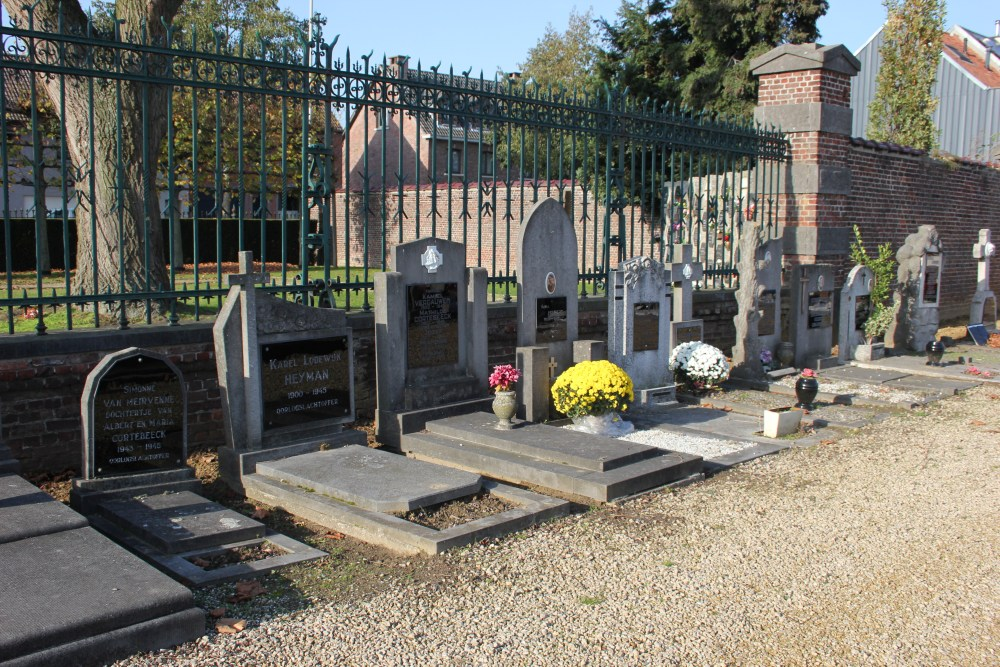 Graves Civilian Casualties Kruibeke