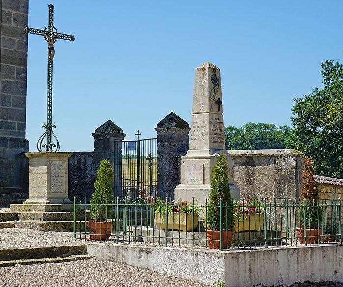 Monument Eerste Wereldoorlog La Villeneuve