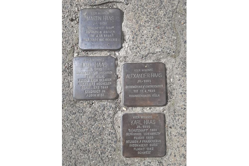 Stumbling Stones Im Kirschseiffen 31