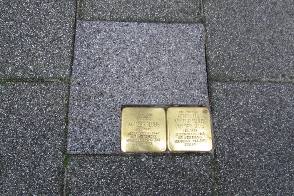 Stumbling Stones Essenburgstraat 9B