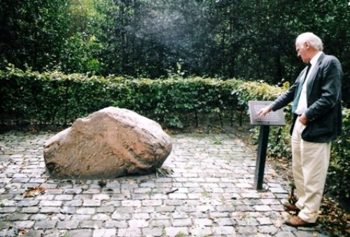 Remembrance Stone and Information Sign Executions Renesse