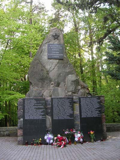 Soviet War Cemetery Sopot