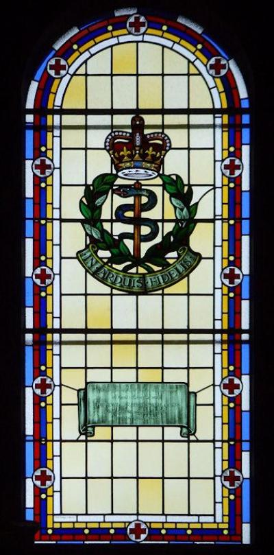 Remembrance Window Royal Army Medical Corps