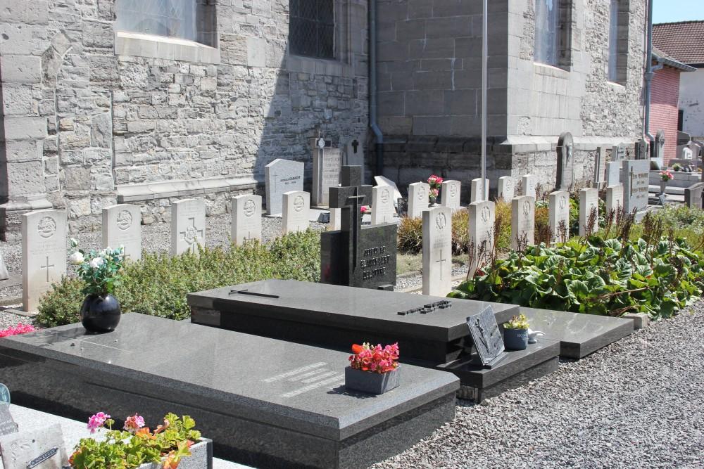 Oorlogsgraven van het Gemenebest Saint-Léger