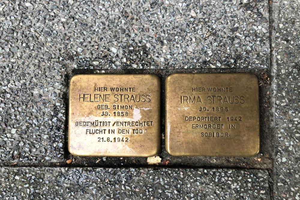 Stumbling Stones Untere Albrechtstraße 14