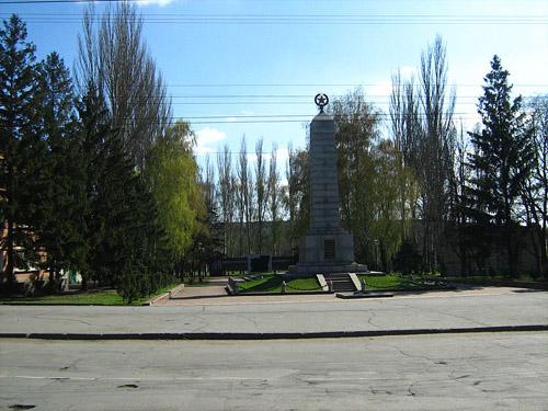 Massagraf Sovjet Soldaten Krivoy Rog