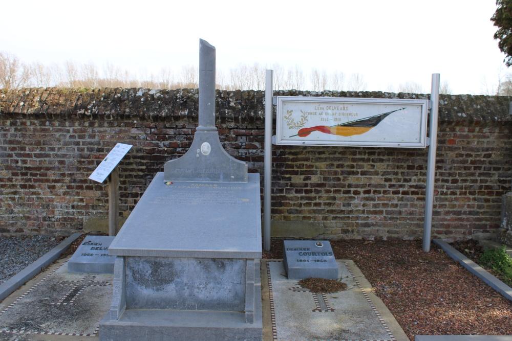 Belgische Oorlogsgraven Autre-Eglise
