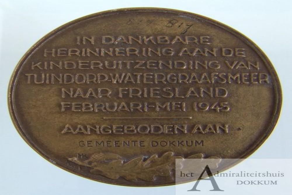 Commemorative Medal Tuindorp - Watergraafsmeer