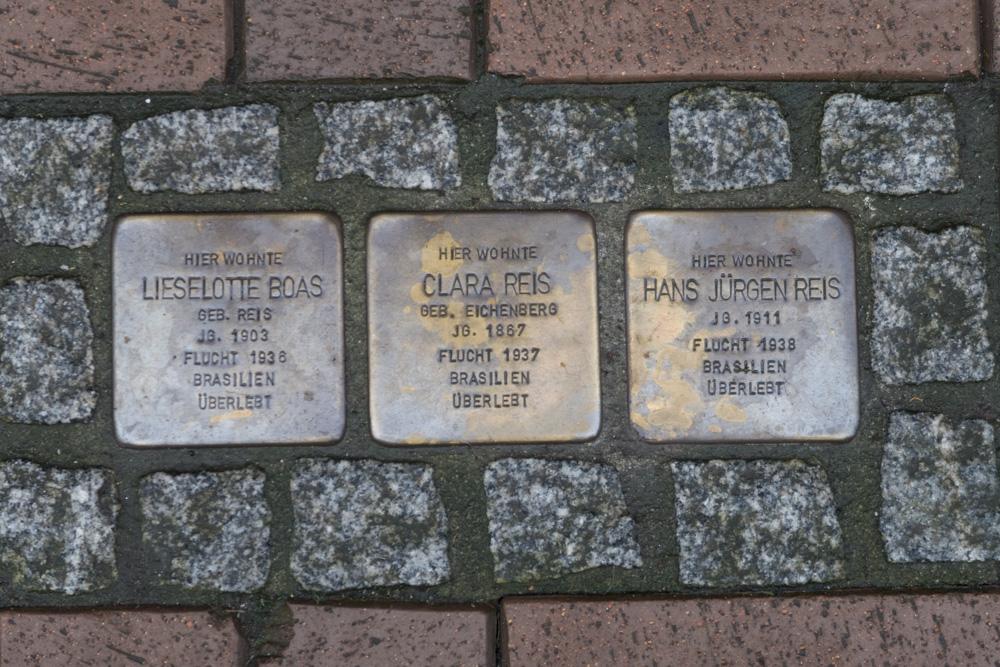 Stumbling Stones Lange Herzogstraße 26