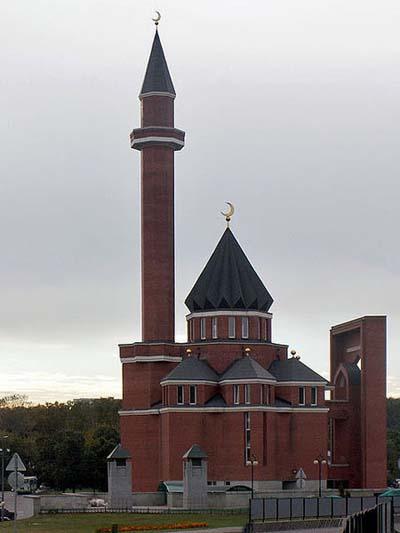 Memorial Mosque Moscow