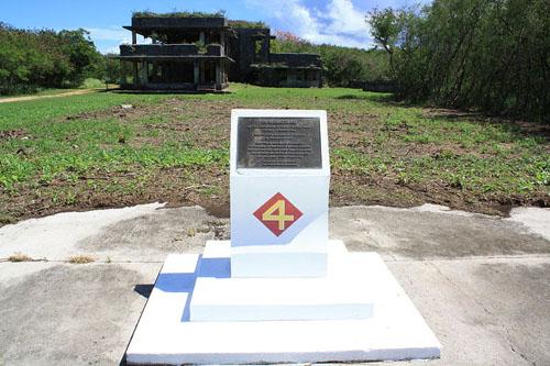 Memorial 4th Marine Division Tinian