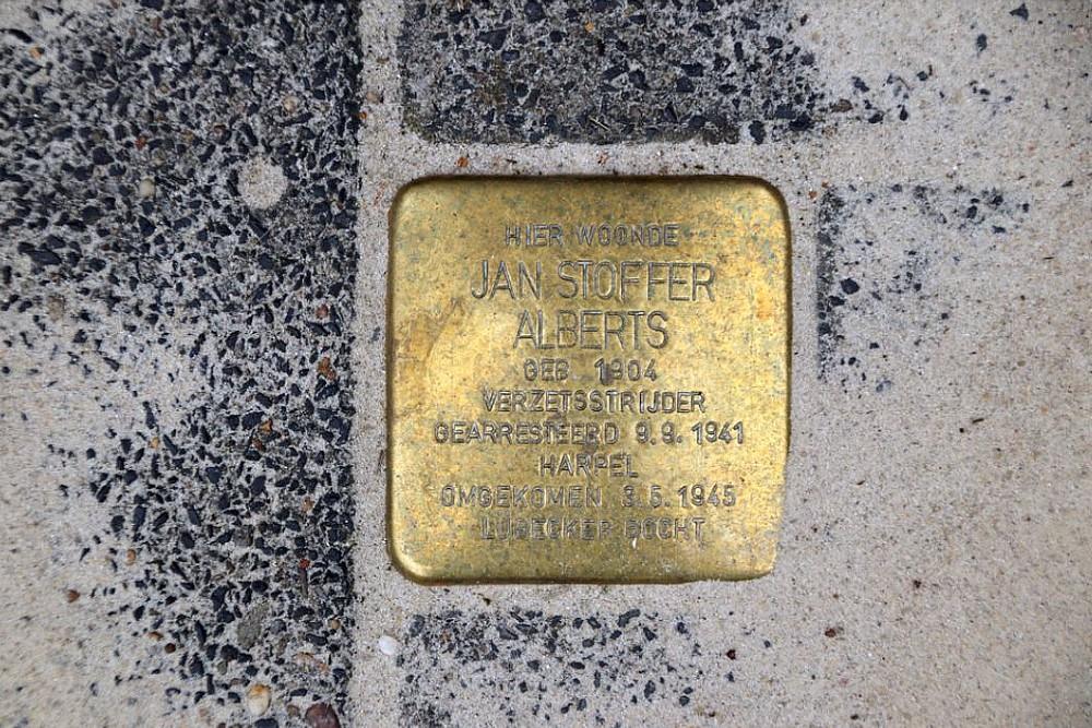 Stumbling Stones Tweede Spoorstraat 1