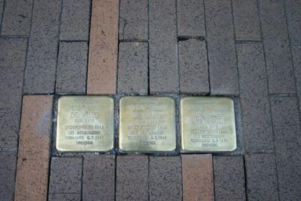 Stolpersteine Folkingestraat 17