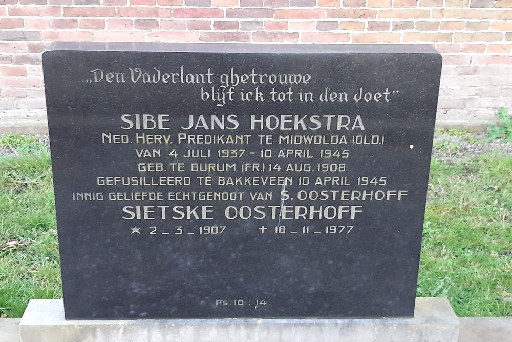 Dutch War Grave N.H. Cemetery