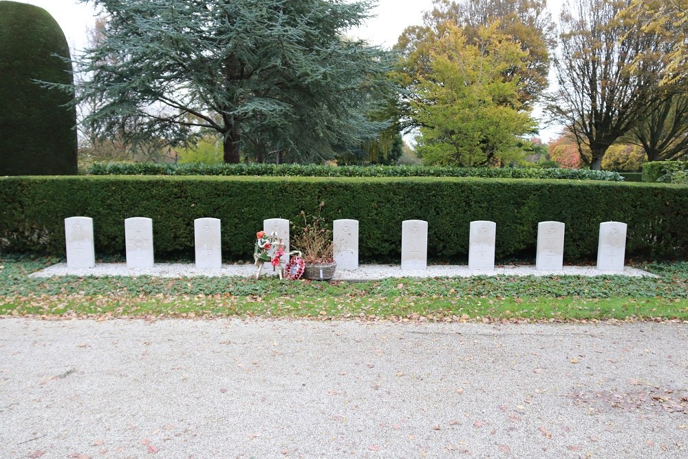 Commonwealth War Graves General Cemetery Middenmeer
