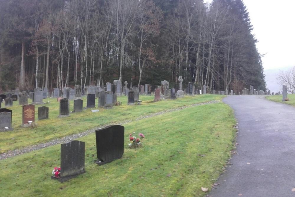 Commonwealth War Graves Killin Cemetery
