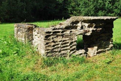 Remains British Bunker Pannenhuisstraat