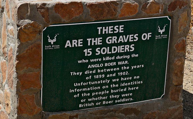 Massagraf Tweede Boerenoorlog