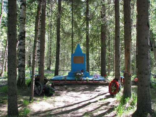 Collective Grave Soviet Soldiers Lesnoye