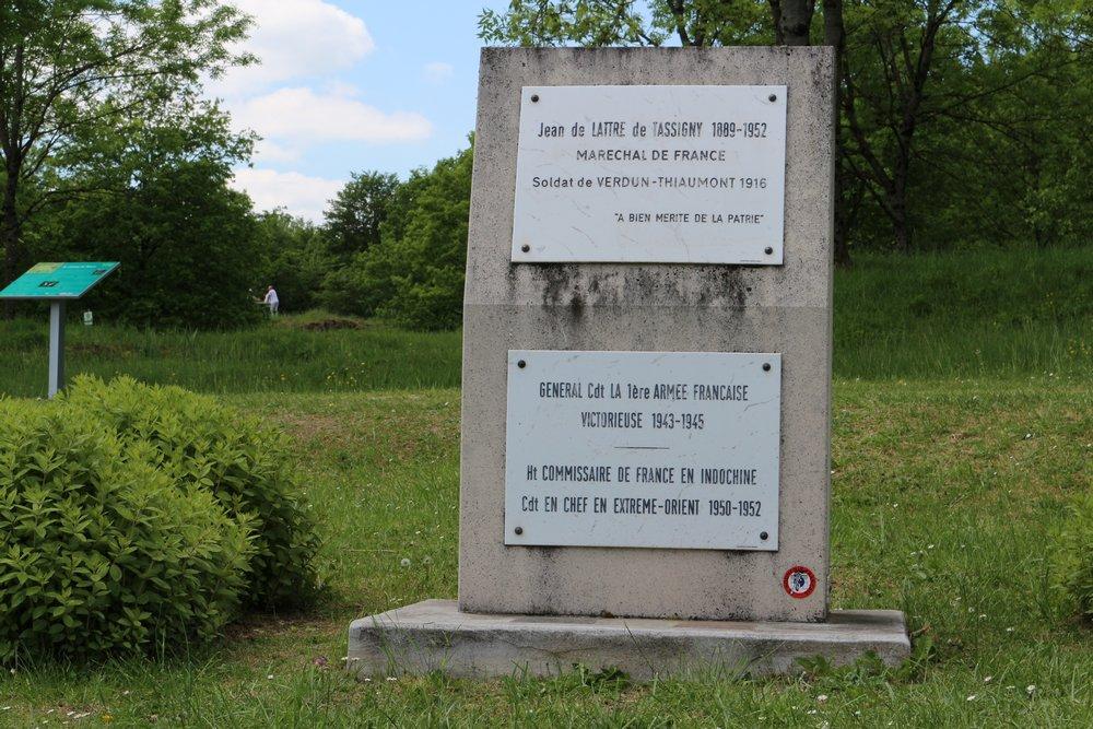 Monument Maarschalk Jean de Lattre de Tassigny