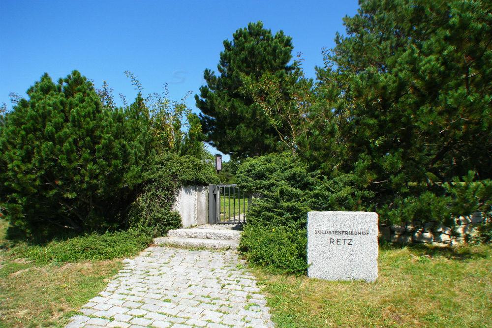 Duitse Oorlogsbegraafplaats Retz