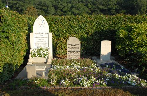 Dutch War Graves Protestant Cemetery Horssen