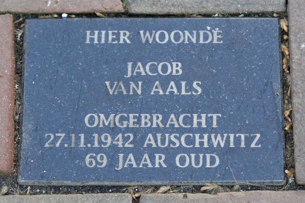 Memorial Stone Hoofdstraat 178