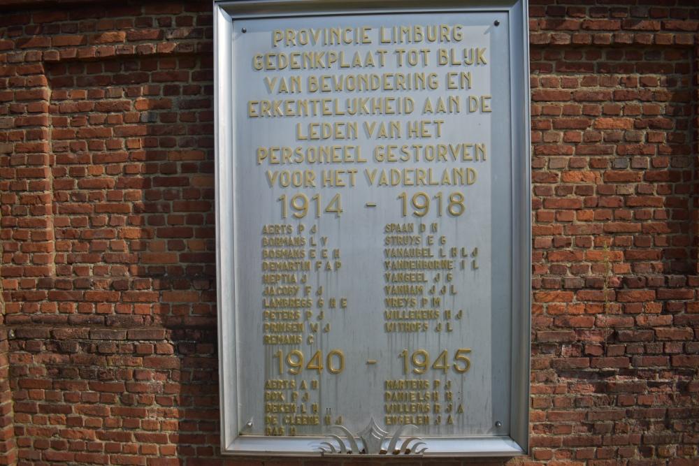Memorial of Gratitude Municipal Cemetery Hasselt