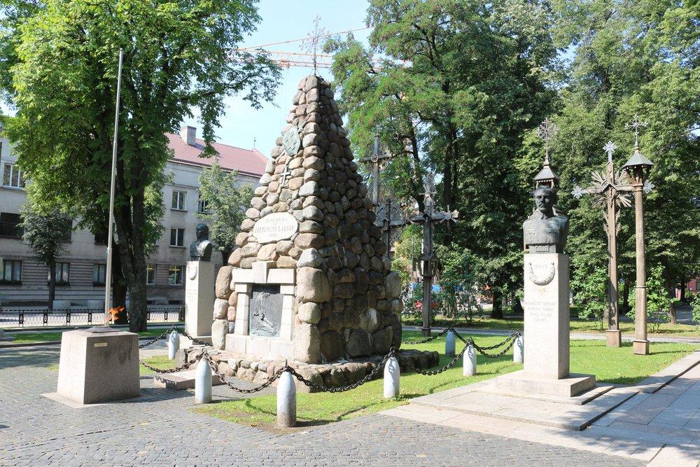 Eternal Flame Lithuanian War Museum